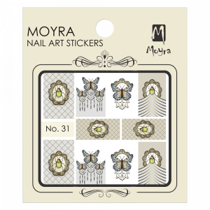Moyra Nail art sticker No. 31