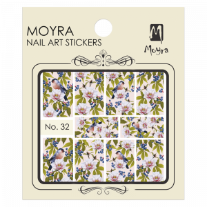 Moyra Nail art sticker No. 32