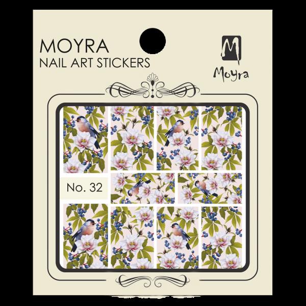 Moyra Nail art sticker No. 32
