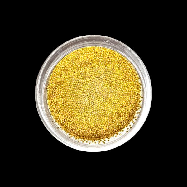 Caviar beads No. 05 Gold