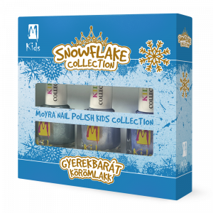 Moyra KIDS nail polish set Snowflake