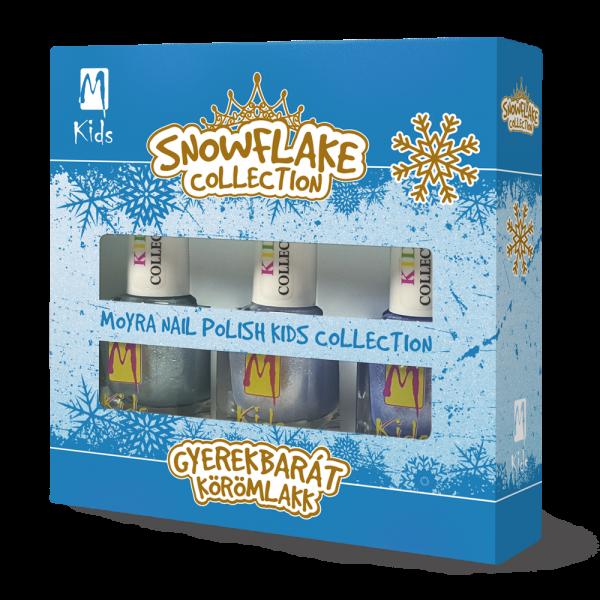 Moyra KIDS nail polish set Snowflake