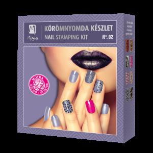 Nail stamping kit No. 02