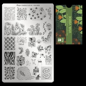 Moyra stamping plate 82 Viva verde