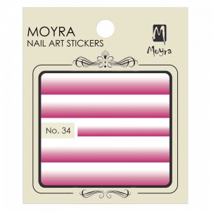 Moyra Nail art sticker No. 34