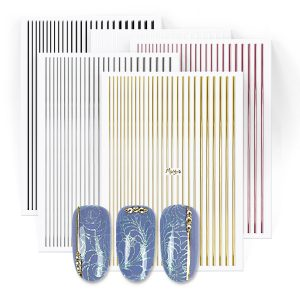 Nail art strips