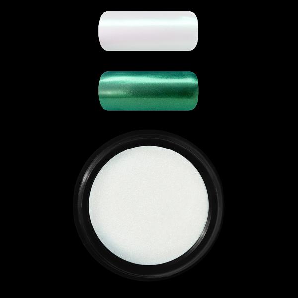 Shell effect powder, Green