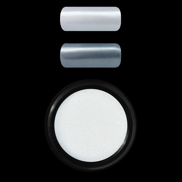 Shell effect powder, Silver