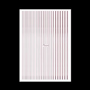Moyra Nail art strips No. 03 Rose gold