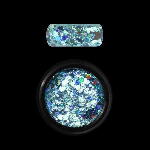 Moyra Holo glitter mix No. 04, Turquoise