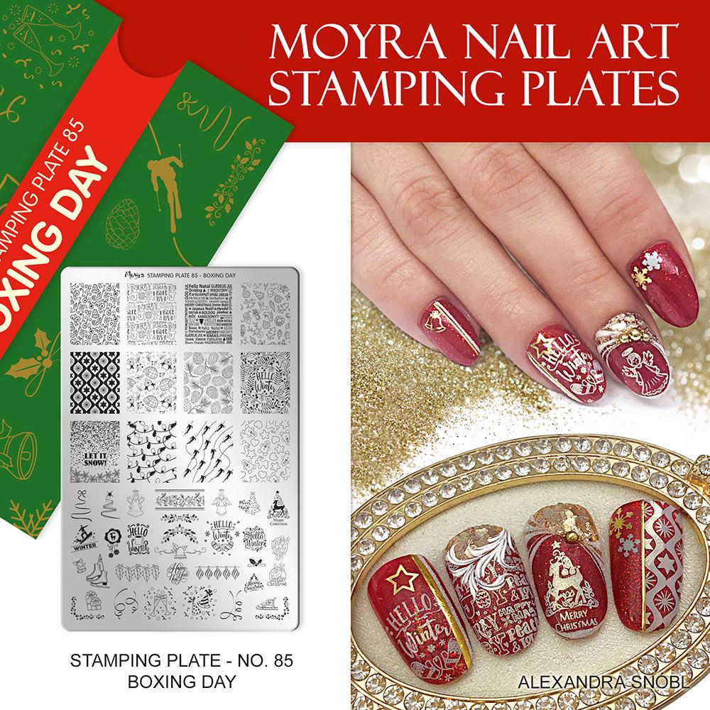 Moyra stamping plate No. 85 Boxing day