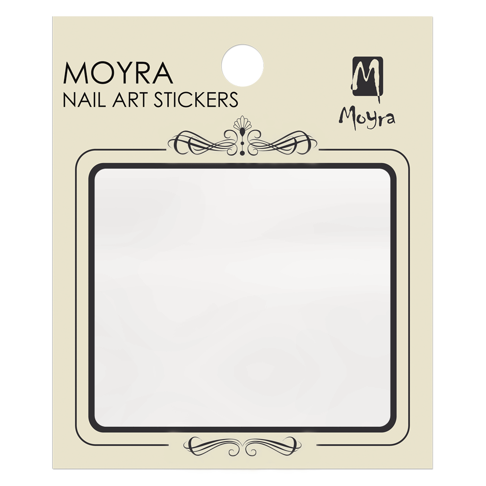 Moyra Transparent Nail art sticker