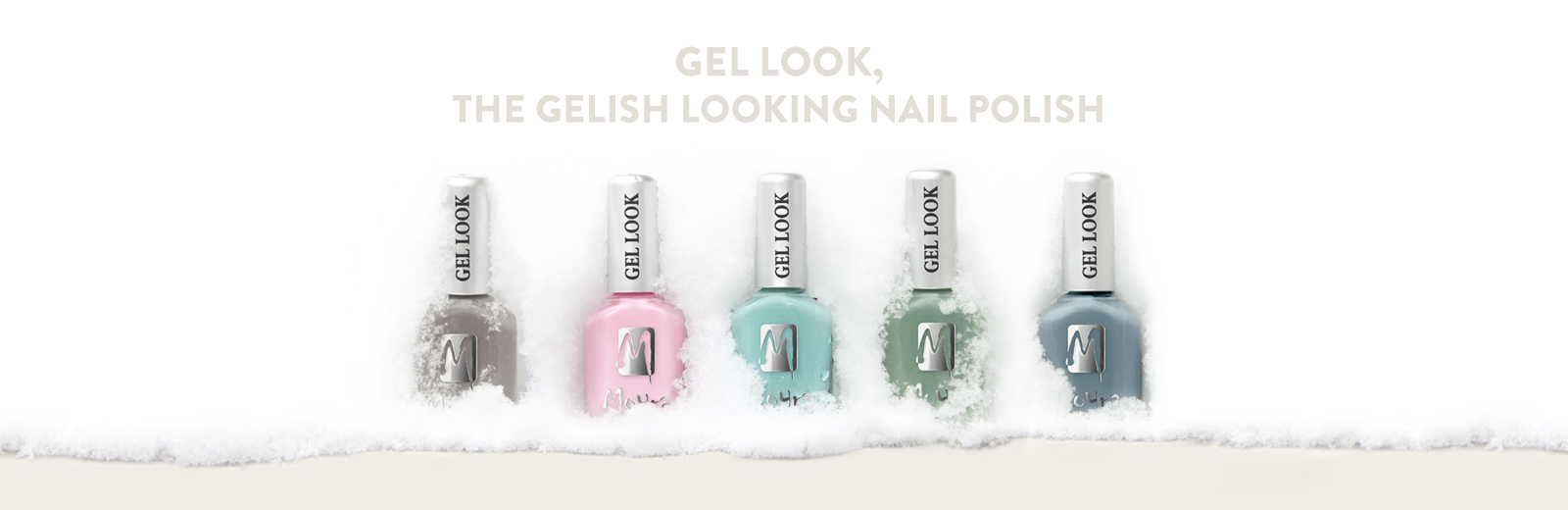 Moyra gel look nail polish