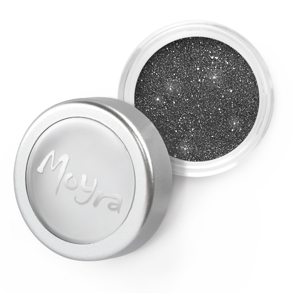 Moyra Glitter powder No. 33 Steel-grey