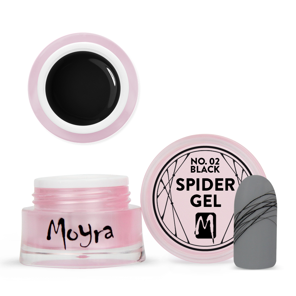 Spider gel No. 02 Black