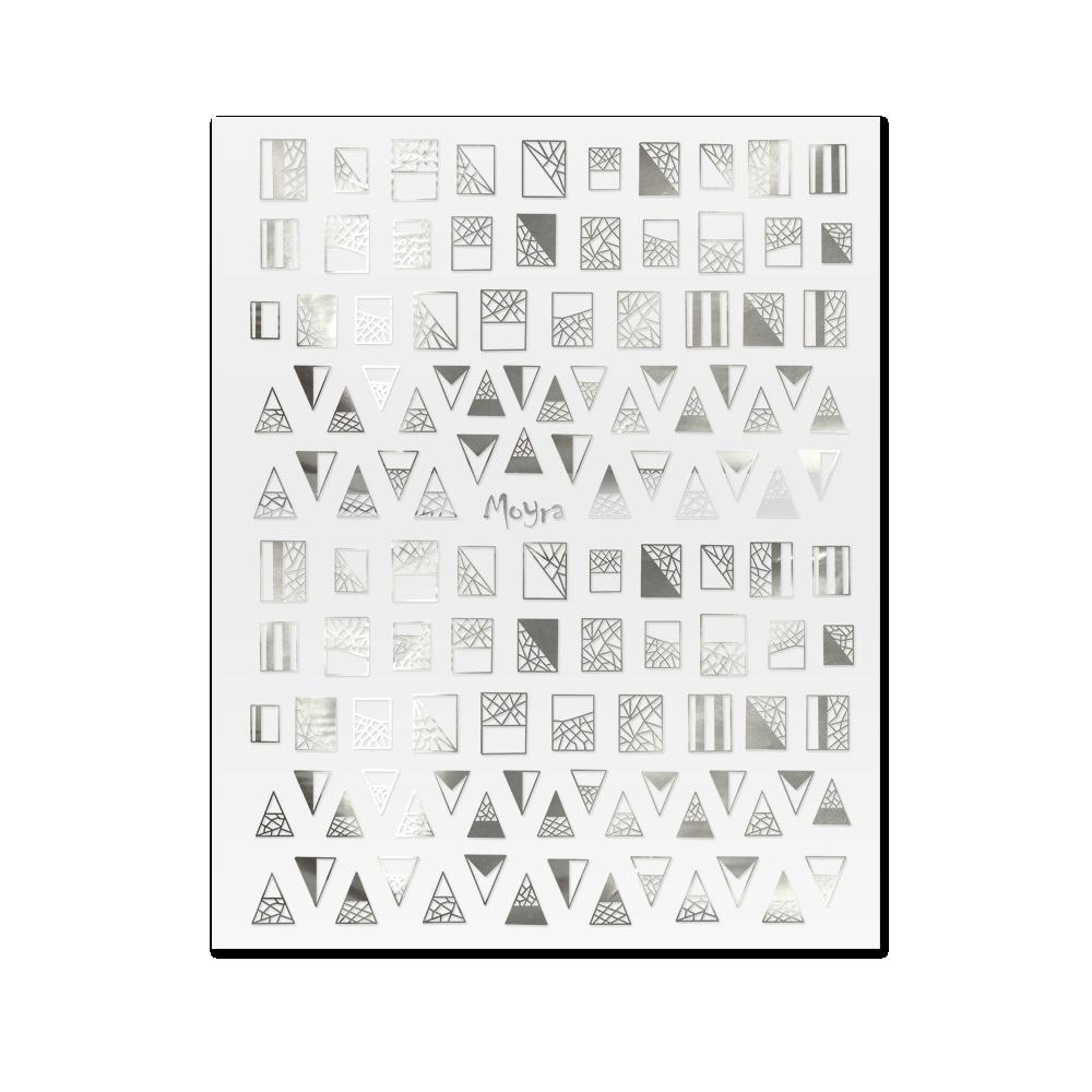 Moyra Nail art stickers No. 03, Silver