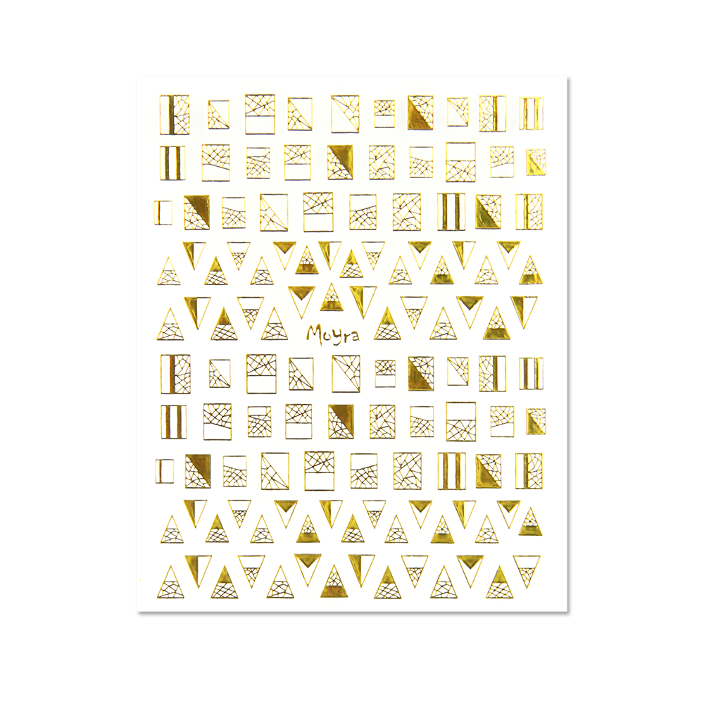 Moyra Nail art stickers No. 04, Gold