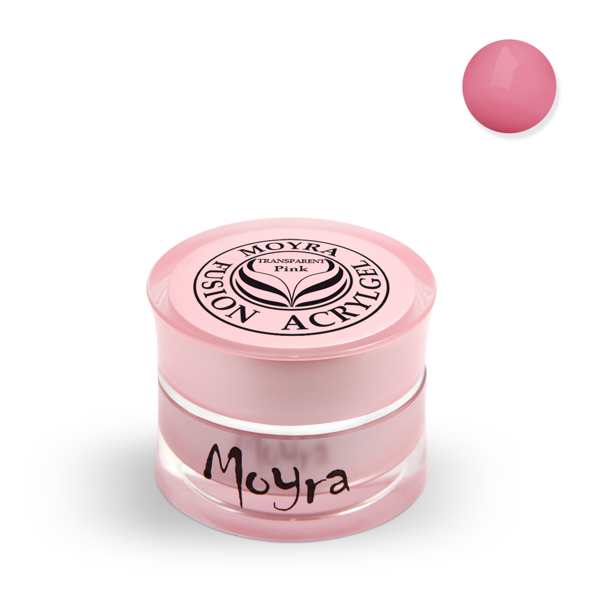Fusion Acrylgel 5 g, Transparent Pink