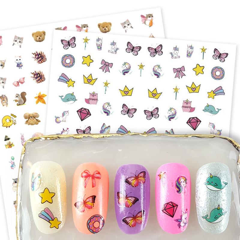 Moyra KIDS nail stickers