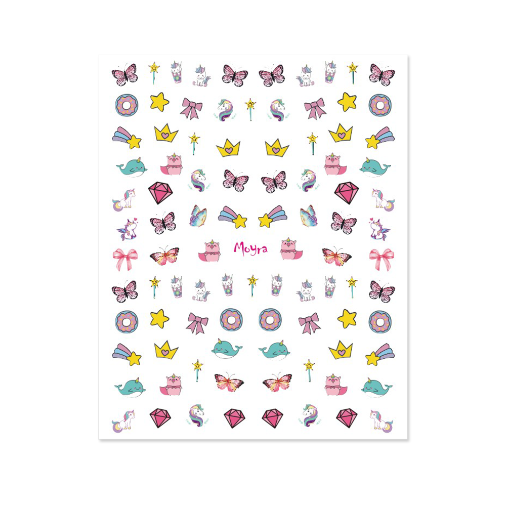 Moyra KIDS Nail art stickers No. 01