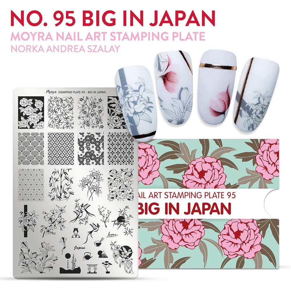 Moyra stamping plate 95 Big in Japan Inspiration