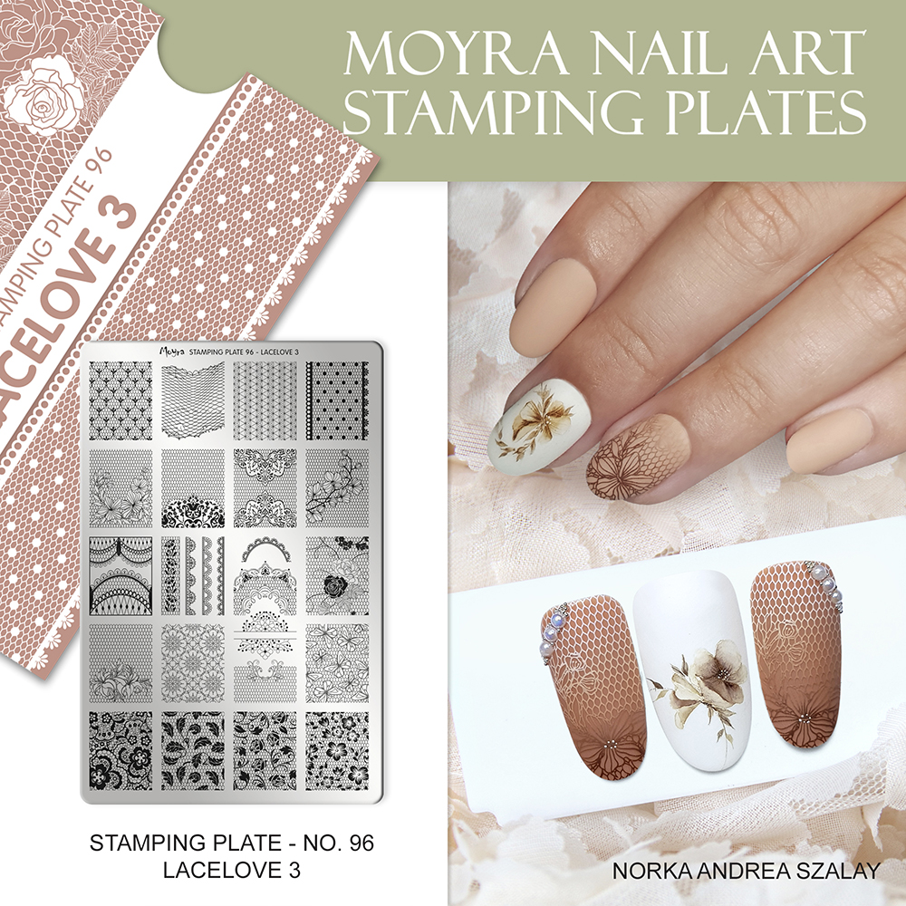 Moyra stamping plate 96 Lacelove 3 Inspiration