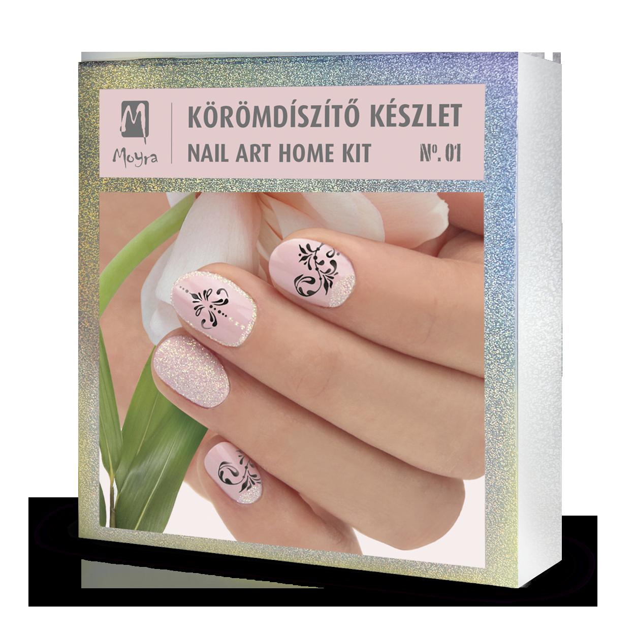 Nail art home kit No. 01