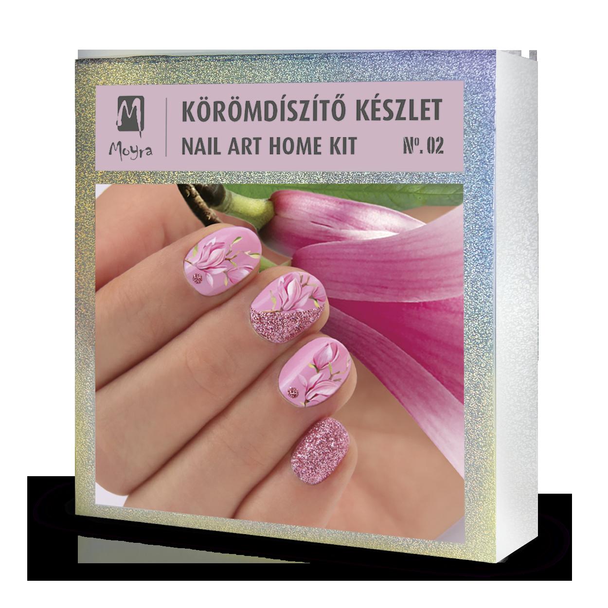 Nail art home kit No. 02