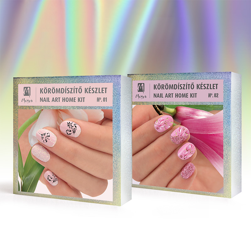 Nail art home kits