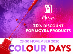 Moyra Colour Days - 20% discount for Moyra products