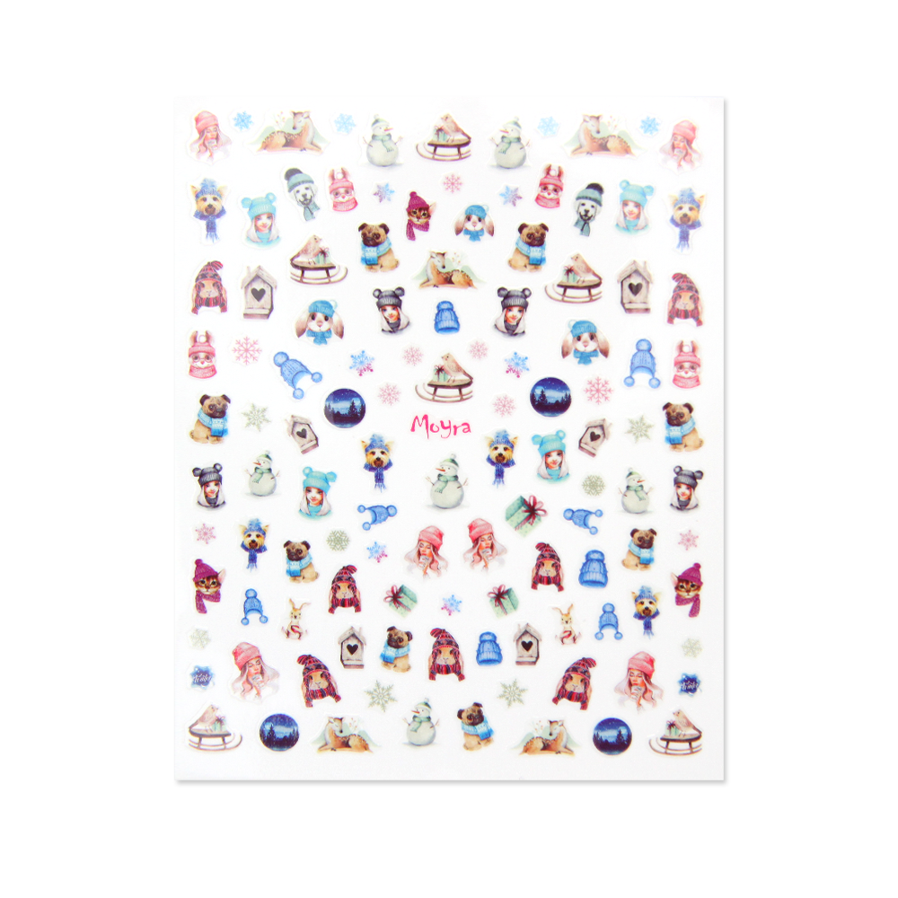 Moyra nail art sticker 14