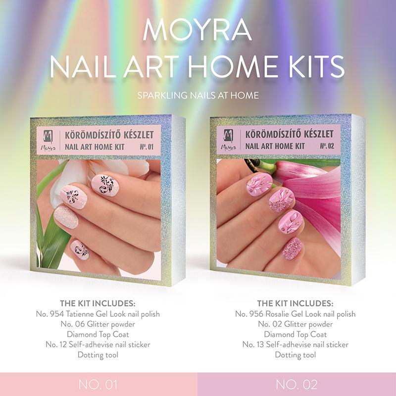 Moyra Nail  Art Home sets