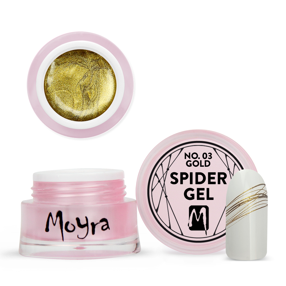 Spider gel No. 03 Gold