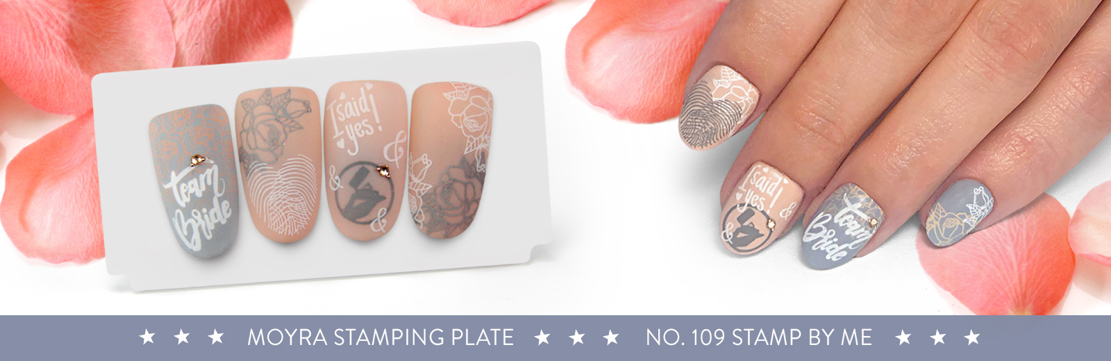 New stamping plate has arrived! No. 109 Stamp by me