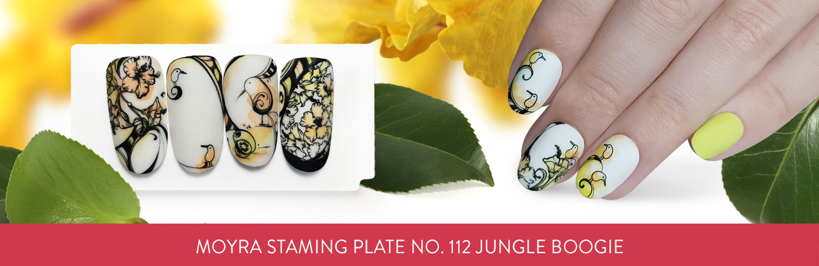 Moyra stamping plate 112 Jungle boogie