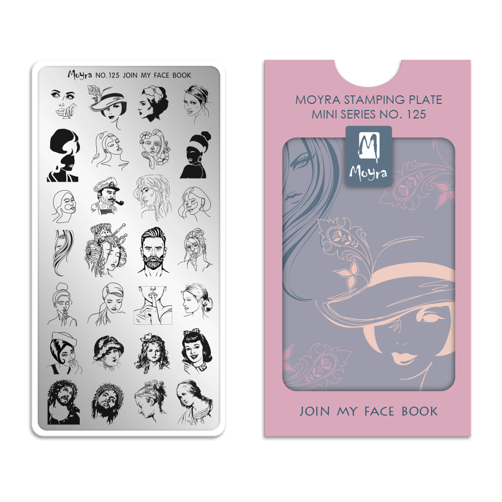 Moyra mini stamping plate 125 Join my face book