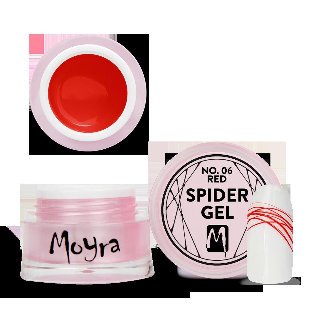 Spider gel No. 06 Red